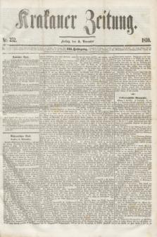 Krakauer Zeitung.Jg.3, Nr. 252 (4 November 1859)