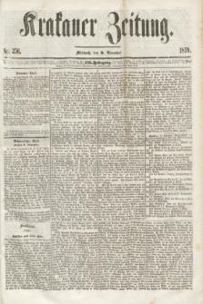 Krakauer Zeitung.Jg.3, Nr. 256 (9 November 1859)