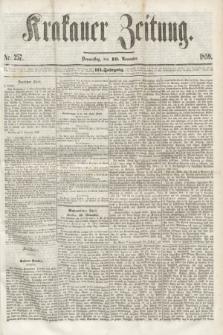 Krakauer Zeitung.Jg.3, Nr. 257 (10 November 1859) + dod.