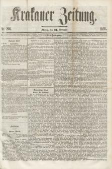 Krakauer Zeitung.Jg.3, Nr. 266 (21 November 1859) + dod.
