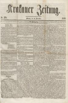 Krakauer Zeitung.Jg.3, Nr. 278 (5 December 1859) + dod.