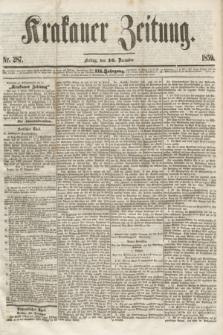 Krakauer Zeitung.Jg.3, Nr. 287 (16 December 1859) + dod.
