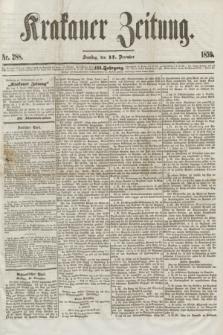 Krakauer Zeitung.Jg.3, Nr. 288 (17 December 1859) + dod.