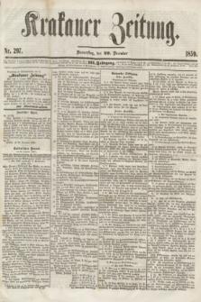 Krakauer Zeitung.Jg.3, Nr. 297 (29 December 1859)