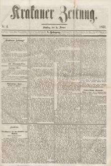 Krakauer Zeitung.Jg.5, Nr. 4 (5 Jänner 1861)