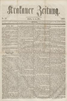 Krakauer Zeitung.Jg.5, Nr. 51 (2 März 1861)
