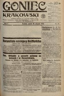 Goniec Krakowski. 1918, nr59
