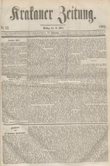 Krakauer Zeitung.Jg.6, Nr. 52 (4 März 1862)