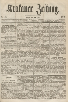 Krakauer Zeitung.Jg.6, Nr. 146 (28 Juni 1862)