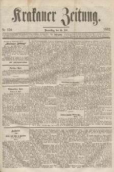 Krakauer Zeitung.Jg.6, Nr. 150 (3 Juli 1862)