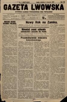 Gazeta Lwowska. 1937, nr1
