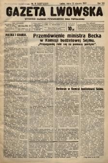 Gazeta Lwowska. 1937, nr8