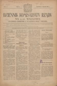 Dziennik Komisarjatu Rządu na M. St. Warszawę.R.2, № 3 (5 stycznia 1921) = № 40