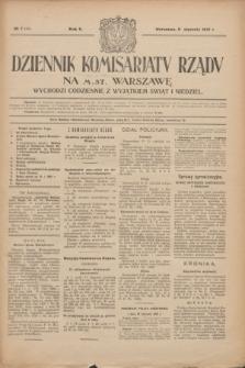 Dziennik Komisarjatu Rządu na M. St. Warszawę.R.2, № 7 (11 stycznia 1921) = № 44