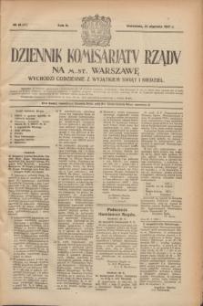 Dziennik Komisarjatu Rządu na M. St. Warszawę.R.2, № 16 (21 stycznia 1921) = № 53