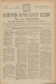 Dziennik Komisarjatu Rządu na M. St. Warszawę.R.2, № 23 (29 stycznia 1921) = № 60