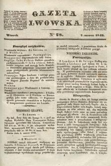 Gazeta Lwowska. 1843, nr 28