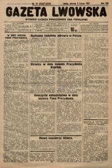 Gazeta Lwowska. 1937, nr25