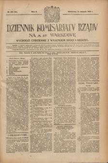 Dziennik Komisarjatu Rządu na M. St. Warszawę.R.2, № 195 (31 sierpnia 1921) = № 322