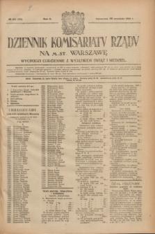 Dziennik Komisarjatu Rządu na M. St. Warszawę.R.2, № 211 (20 września 1921) = № 338