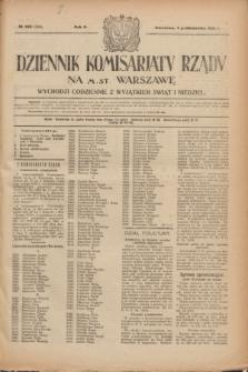 Dziennik Komisarjatu Rządu na M. St. Warszawę.R.2, № 223 (4 października 1921) = № 350