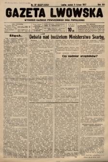 Gazeta Lwowska. 1937, nr27