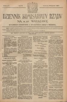 Dziennik Komisarjatu Rządu na M. St. Warszawę.R.3, № 23 (28 stycznia 1922) = № 355