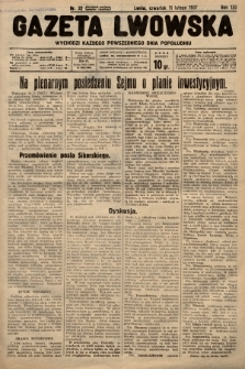 Gazeta Lwowska. 1937, nr32