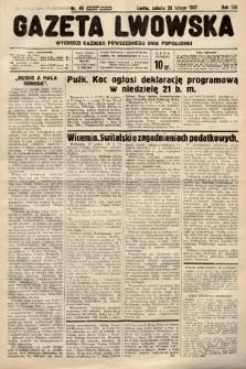Gazeta Lwowska. 1937, nr40