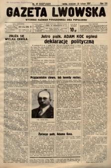 Gazeta Lwowska. 1937, nr41