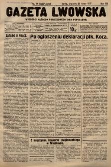 Gazeta Lwowska. 1937, nr44