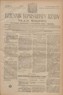 Dziennik Komisarjatu Rządu na M. St. Warszawę.R.3, № 283 (16 grudnia 1922) = № 615