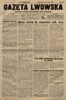 Gazeta Lwowska. 1937, nr45