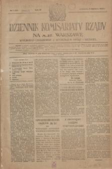 Dziennik Komisarjatu Rządu na M. St. Warszawę.R.4, № 1 (2 stycznia 1923) = № 626