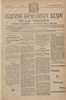 Dziennik Komisarjatu Rządu na M. St. Warszawę.R.4, № 5 (8 stycznia 1923) = № 630