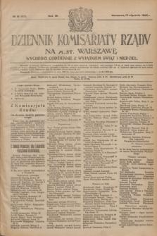 Dziennik Komisarjatu Rządu na M. St. Warszawę.R.4, № 10 (13 stycznia 1923) = № 635