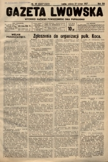 Gazeta Lwowska. 1937, nr46