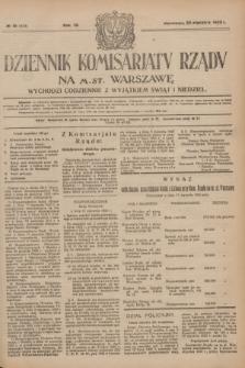 Dziennik Komisarjatu Rządu na M. St. Warszawę.R.4, № 19 (24 stycznia 1923) = № 644