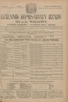 Dziennik Komisarjatu Rządu na M. St. Warszawę.R.4, № 20 (25 stycznia 1923) = № 645