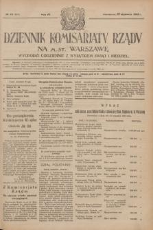 Dziennik Komisarjatu Rządu na M. St. Warszawę.R.4, № 22 (27 stycznia 1923) = № 647