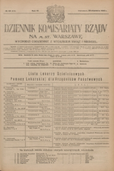 Dziennik Komisarjatu Rządu na M. St. Warszawę.R.4, № 23 (29 stycznia 1923) = № 648