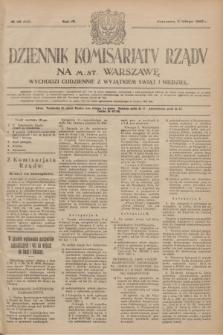 Dziennik Komisarjatu Rządu na M. St. Warszawę.R.4, № 28 (5 lutego 1923) = № 653