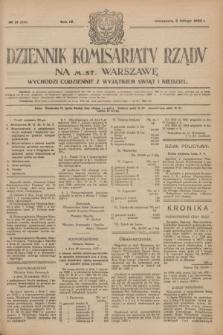 Dziennik Komisarjatu Rządu na M. St. Warszawę.R.4, № 31 (8 lutego 1923) = № 656