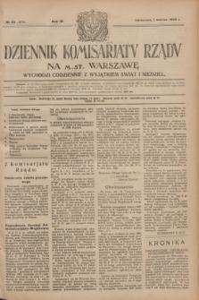 Dziennik Komisarjatu Rządu na M. St. Warszawę.R.4, № 49 (1 marca 1923) = № 674