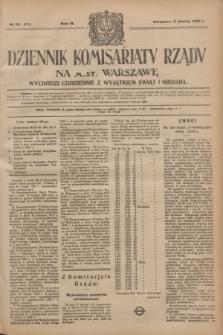 Dziennik Komisarjatu Rządu na M. St. Warszawę.R.4, № 50 (2 marca 1923) = № 675