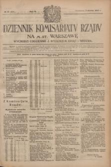 Dziennik Komisarjatu Rządu na M. St. Warszawę.R.4, № 51 (3 marca 1923) = № 676