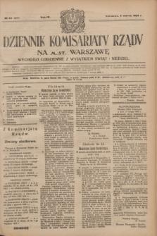 Dziennik Komisarjatu Rządu na M. St. Warszawę.R.4, № 52 (5 marca 1923) = № 677