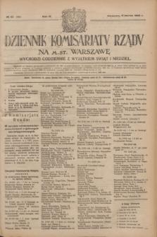 Dziennik Komisarjatu Rządu na M. St. Warszawę.R.4, № 55 (8 marca 1923) = № 680