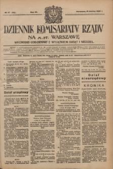Dziennik Komisarjatu Rządu na M. St. Warszawę.R.4, № 57 (10 marca 1923) = № 682