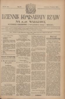 Dziennik Komisarjatu Rządu na M. St. Warszawę.R.4, № 58 (12 marca 1923) = № 683